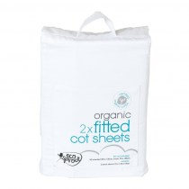 Ecosprout_OrganicCottonCotFittedSheets2PackWhite_NurseryBedding_Product